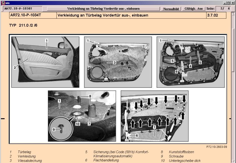 Mercedes Benz Lautsprecher Bedienungsanleitung